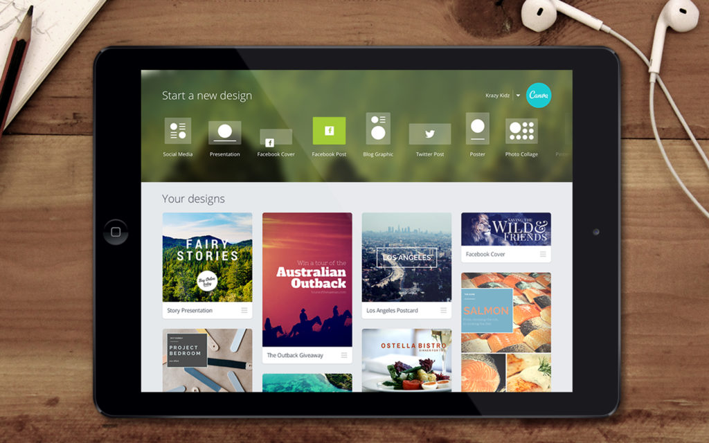 Canva iPad 1