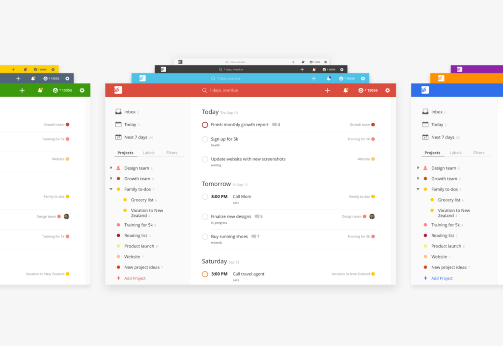 Todoist-color-themes