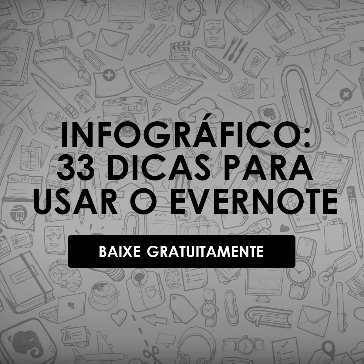Infográfico do Evernote